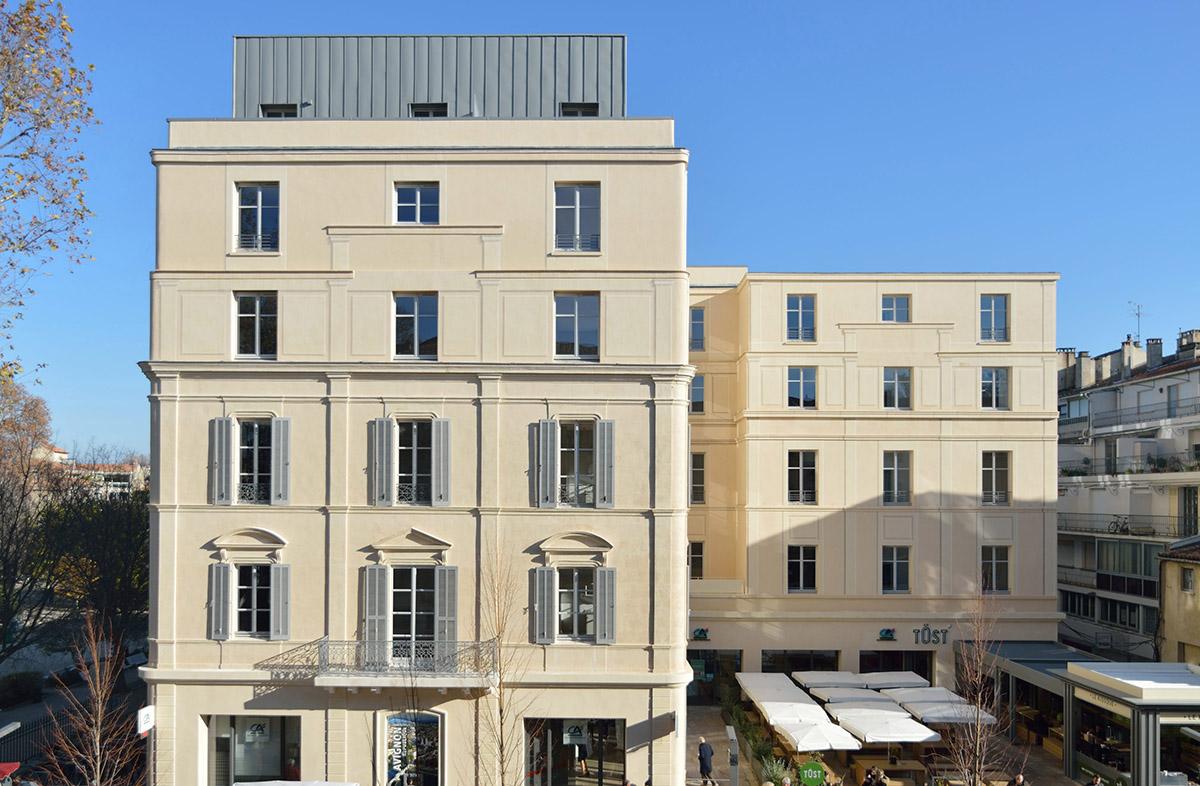 Travail à la chaux Ecole d'Avignon