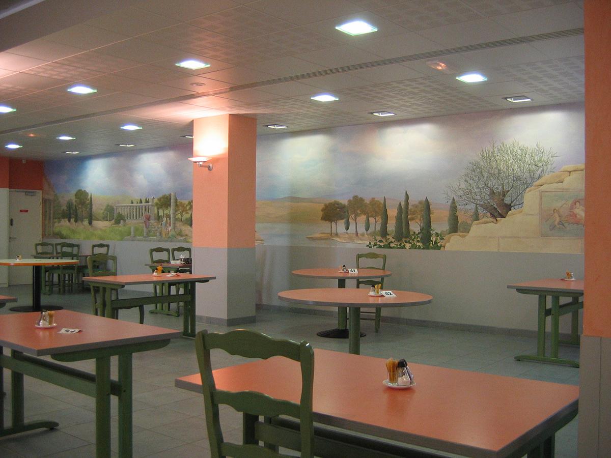 Clinique les feuillades murs décorés